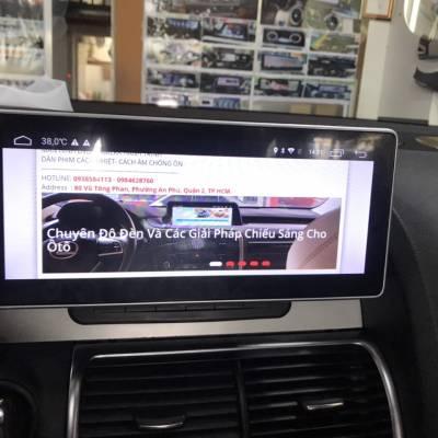 màn hình android theo xe audi Q7