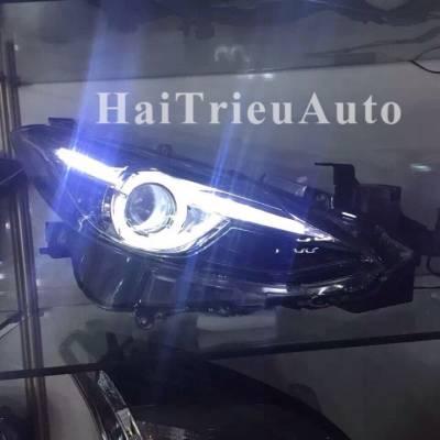 Đèn pha độ nguyên bộ cho xe mazda 3