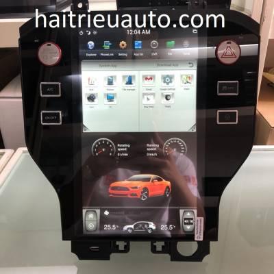 màn hình android theo xe ford mustang