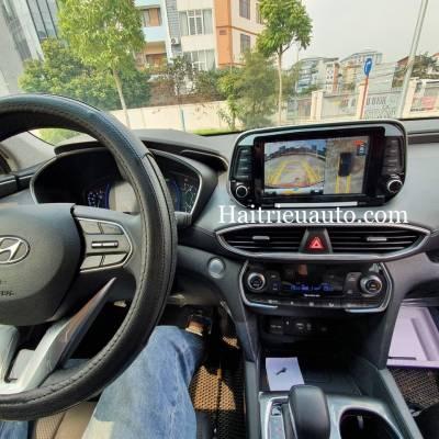 lắp camera 360 cho xe Hyundai Santafe 2019