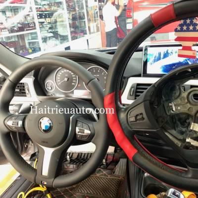 Nâng cấp vô lăng M Sport cho xe BMW 320i