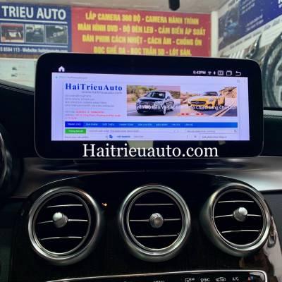 Màn hình android Mercedes GLC 200