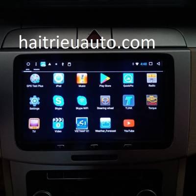 màn hình android Volkswagen Pasat 2009
