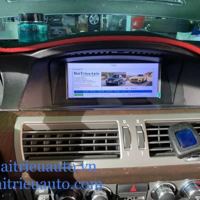 màn hình android heo xe BMW 750li