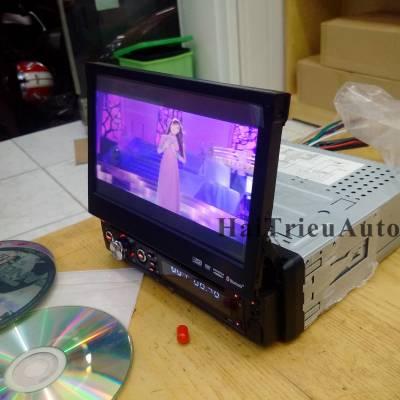Màn hình dvd thụt thò có GPS