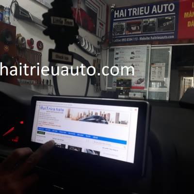 màn hình android theo xe audi A6