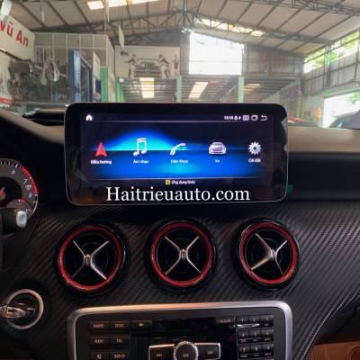 Màn hình android theo xe Mercedes A 250
