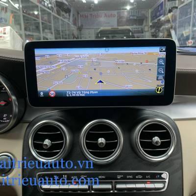Nâng cấp dẫn đường vietmap theo xe mercedes GLC 2020