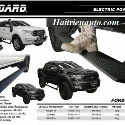 Bệ bước điện thò thụt Ford Ranger 2017