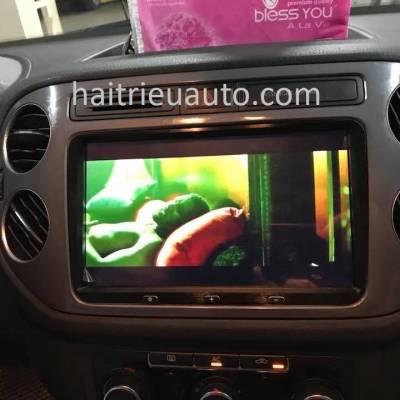 màn hình android cho xe Volkswagen Tiguan