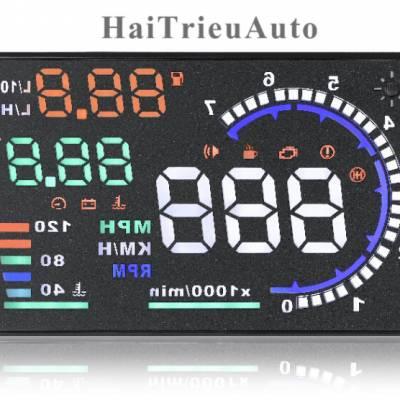 Bộ hiển thị tốc độ trên kính lái HUD A10
