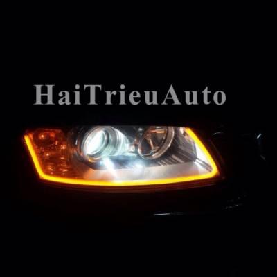Độ đèn led cho xe CAPTIVA 2015