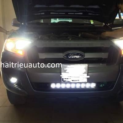 độ đèn 6D cho xe  ranger