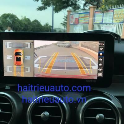 camera 360 theo xe mercedes C 2021