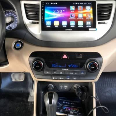 màn hình android Zestech theo xe hyundai tucson