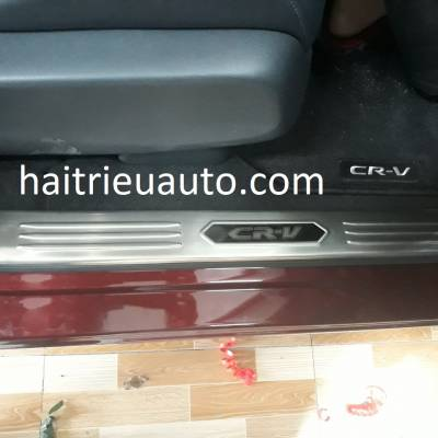 nẹp chống trầy trong xe honda CRV