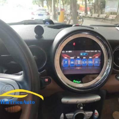 màn hình android theo xe Mini cooper