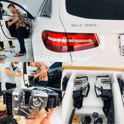 Cửa hít cho xe Mercedes GLC 300