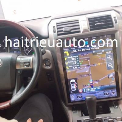 Màn hình tesla android theo xe Lexus GX 460