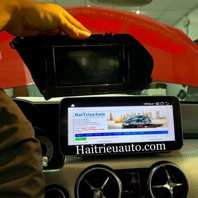 Màn hình android theo xe Mercedes GLK 250 2015