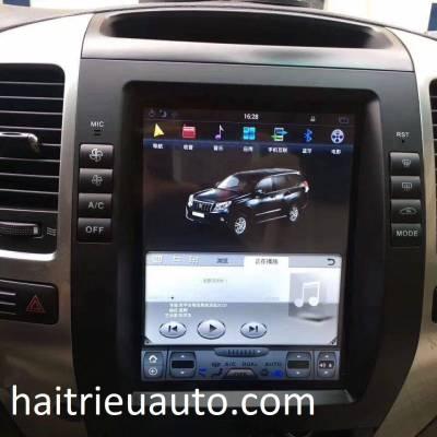 Màn hình tesla theo xe Toyota Land Cruiser Prado 2002-2009