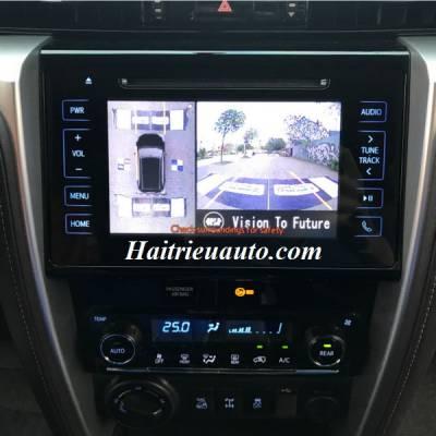 Lắp Camera 360 độ cho xe Toyota Fortuner
