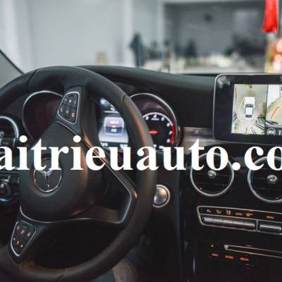 Camera 360 cho xe Mercedes C200