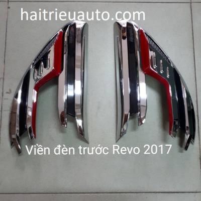 ốp viền đèn trước xe Revo 2018