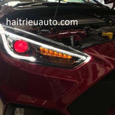 đèn pha độ nguyên bộ theo xe focus