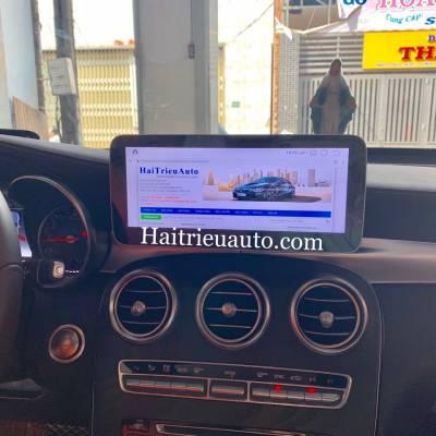Màn hình android theo xe Mercedes GLC300