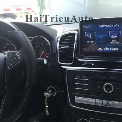 Lắp vietmap cho các dòng xe Mercedes