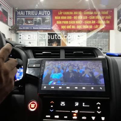 màn hinh android theo xe honda Jazz