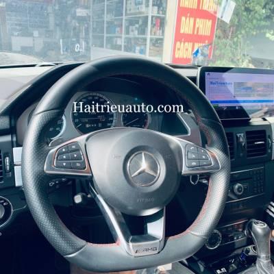 Nâng cấp vô lăng cho xe Mercedes GLK