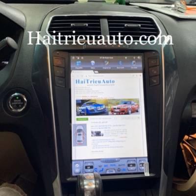 màn hình android xe Ford Explorer