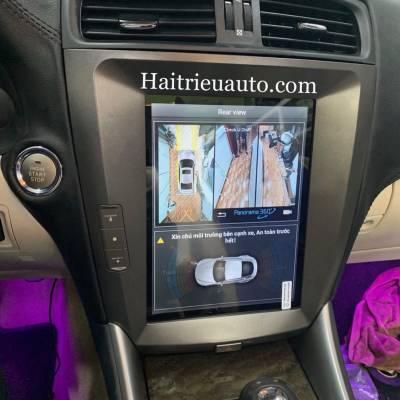 Camera 360 cho xe Lexus IS 250