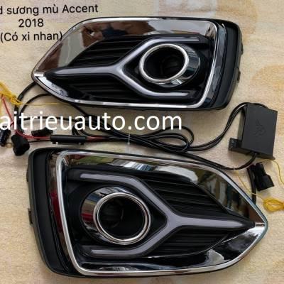 đèn led gầm xe Hyundai Accent 2018