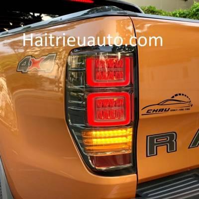 đèn hậu led mẫu U xe ford ranger