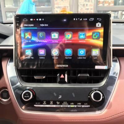 Màn hình android Zestech theo xe Corolla cross