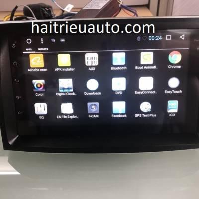 màn hình android theo xe sorento 2013