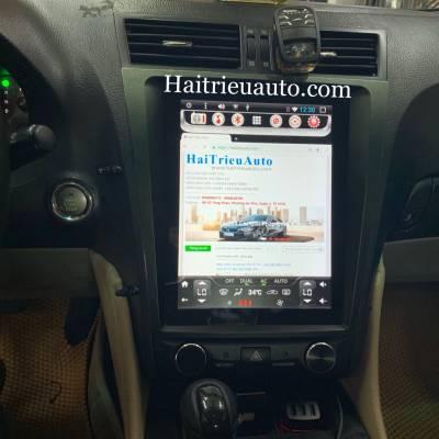 Màn hình tesla theo xe Lexus GS 300