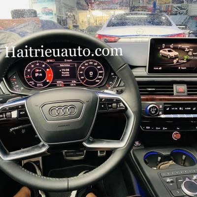 Nâng cấp vô lăng cho Audi A4