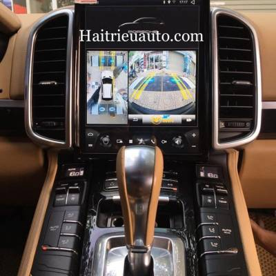 camera 360 cho xe Porsche Cayenne