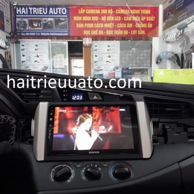 màn hình android zestech theo xe innova
