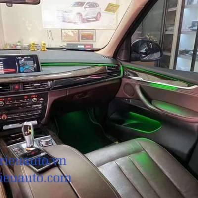 led nội thất theo xe bmw X6