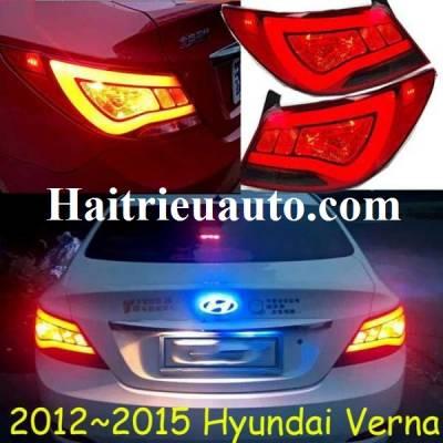 Đèn hậu độ nguyên bộ cho xe Hyundai Verna