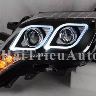 Đèn pha độ cho xe Land Cruiser Prado