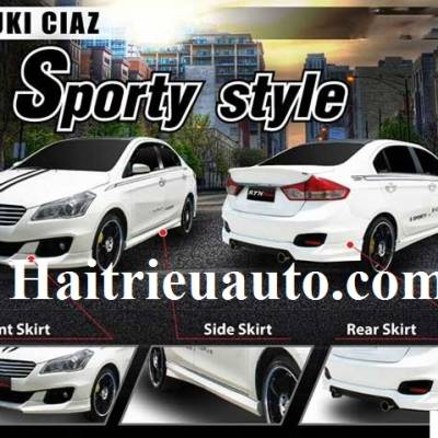 body kit Suzuki Ciaz mẫu Sporty