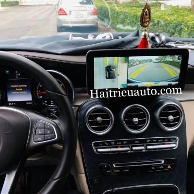 Camera 360 theo xe Mercedes GLC 300