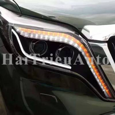 Đèn pha độ cho xe Toyota Land Cruiser Prado 2017