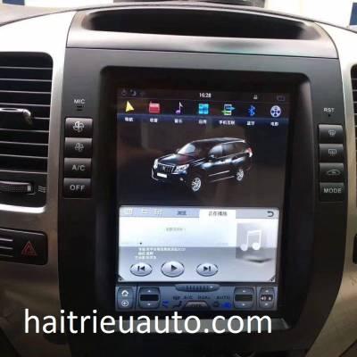 Màn hình tesla android theo xe Lexus GX 470 2003